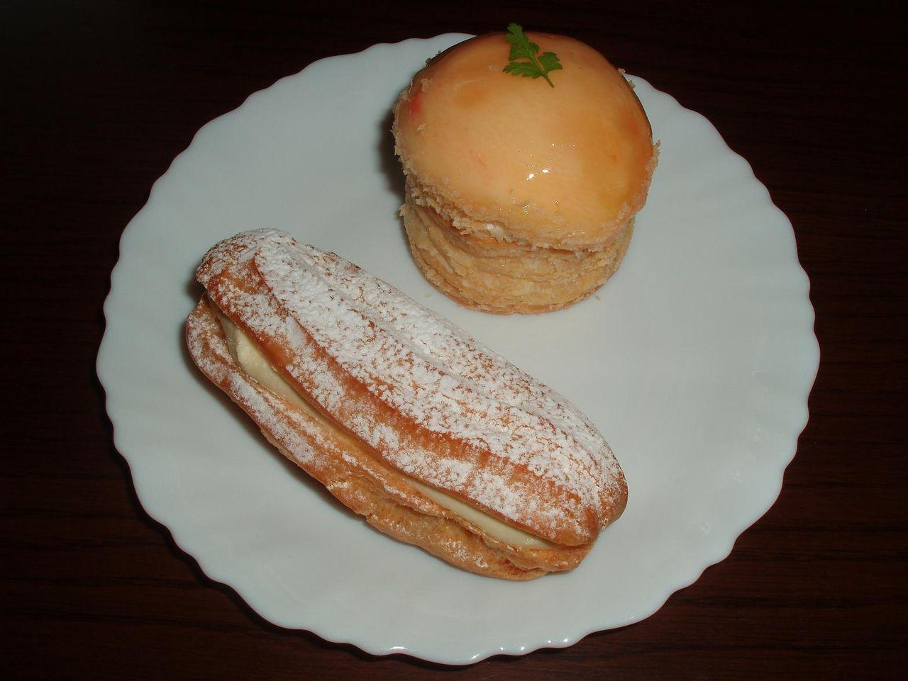 バナナエクレア・桃パイ