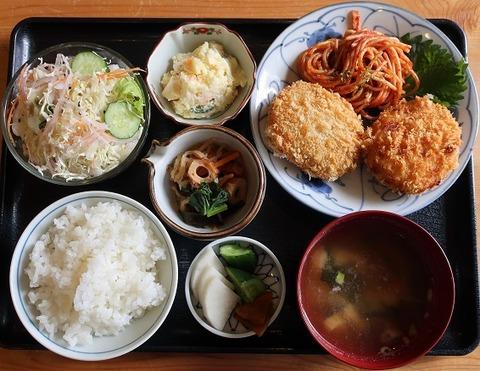 コロッケ定食(やませみ)850