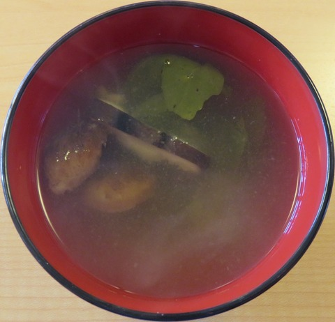 味噌汁(山王夢食堂)