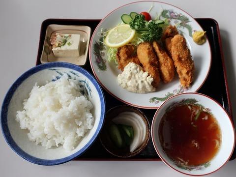 カキフライ定食(一福)920