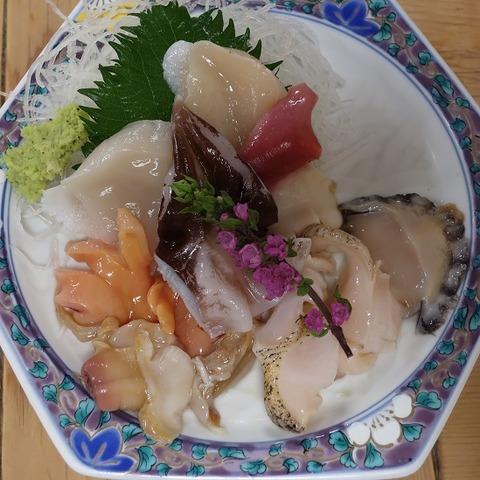 貝盛合せ(三州屋)1100