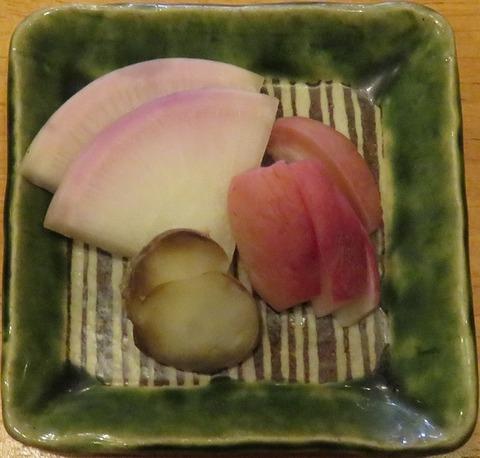 漬物(かなん亭)