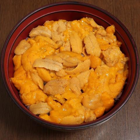 ウニ丼(福寿司)9180