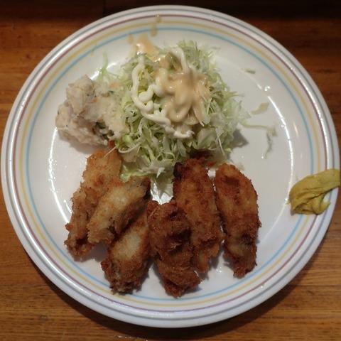 カキフライ定食(田むら)700