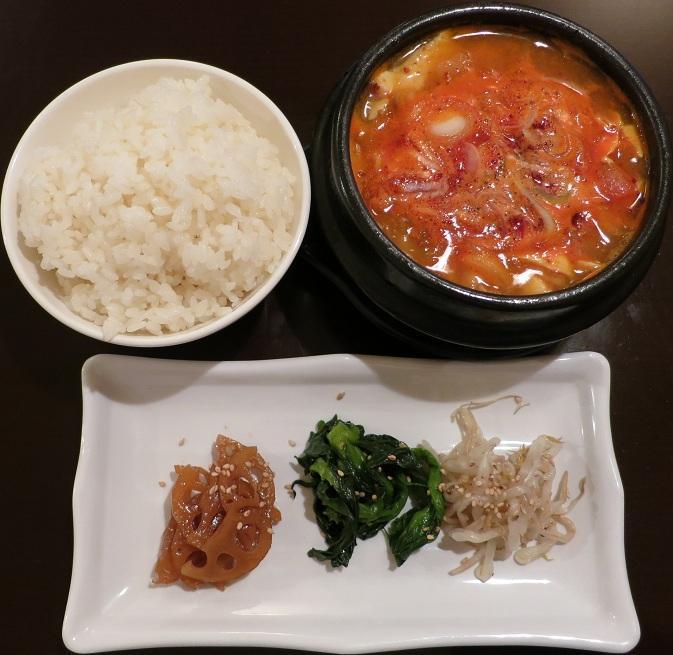 純豆腐チゲ880円