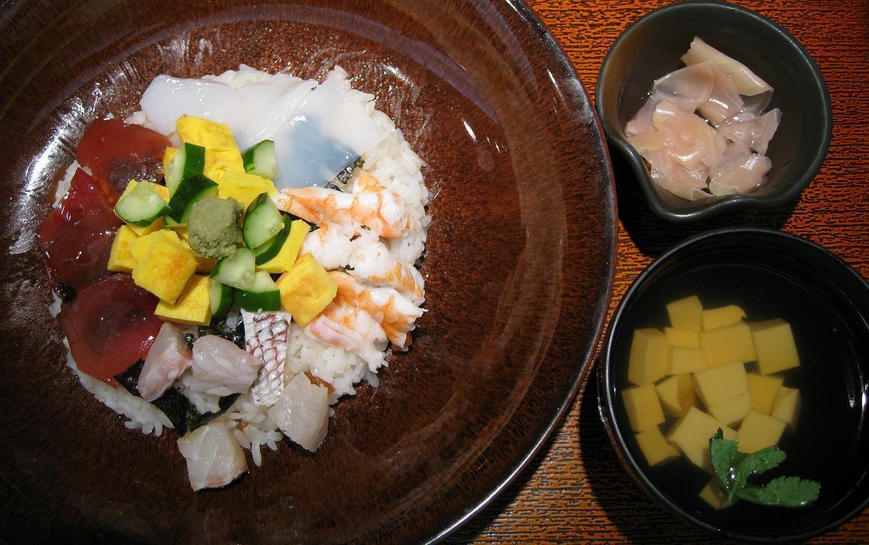 大戸屋風海鮮ちらし寿司