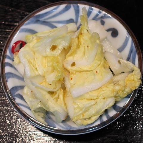 漬物(まんぷく亭)