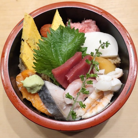 海鮮丼(寿司勝)1050