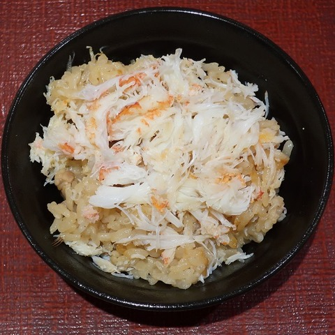 毛蟹釜飯(ふく亭)