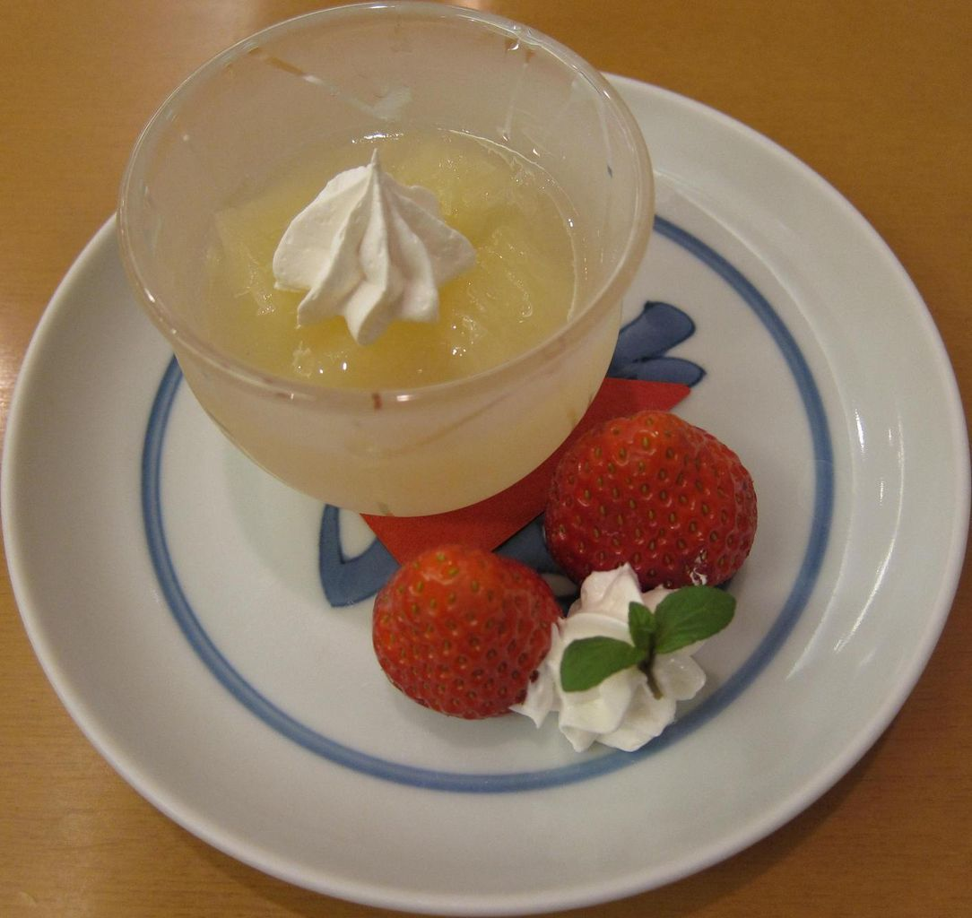 苺&グレープフルーツゼリー