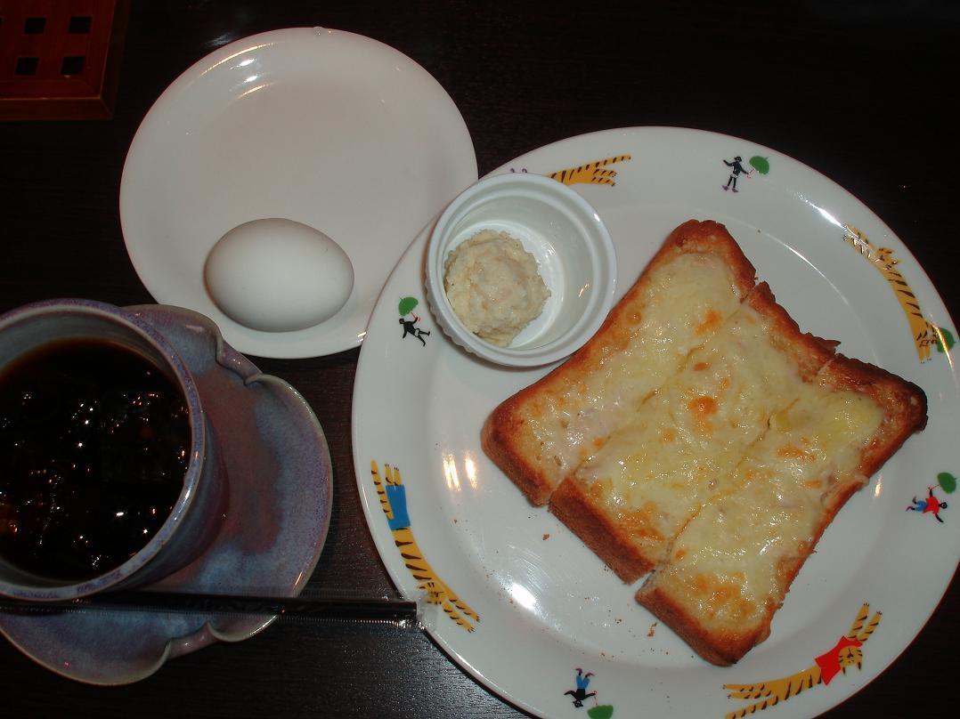 ツナチーズトーストセット
