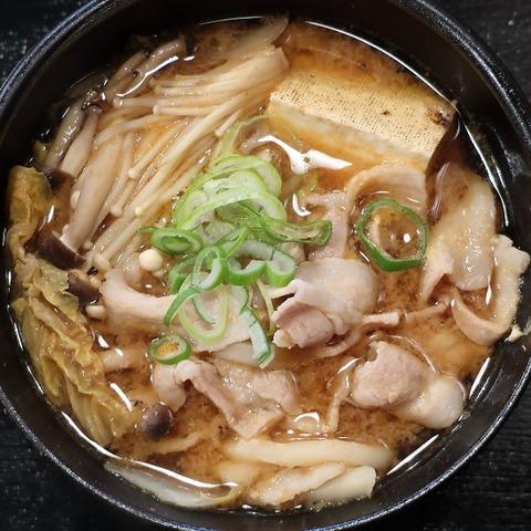豚味噌鍋定食(俺ん家)700