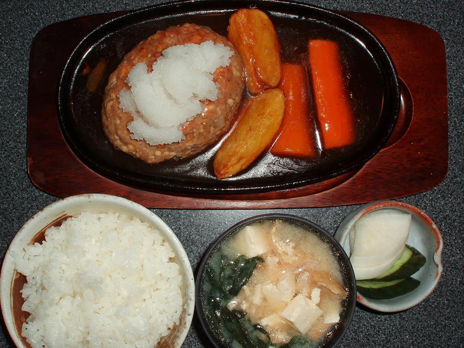 豆富ハンバーグ・御飯set