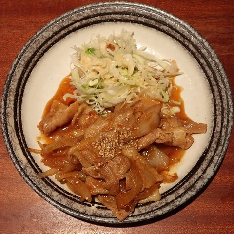 豚肉のスタミナ生姜焼(エニシ)600
