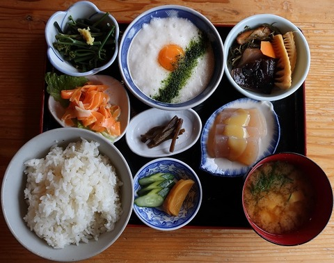 とろろめし定食(島勝)950