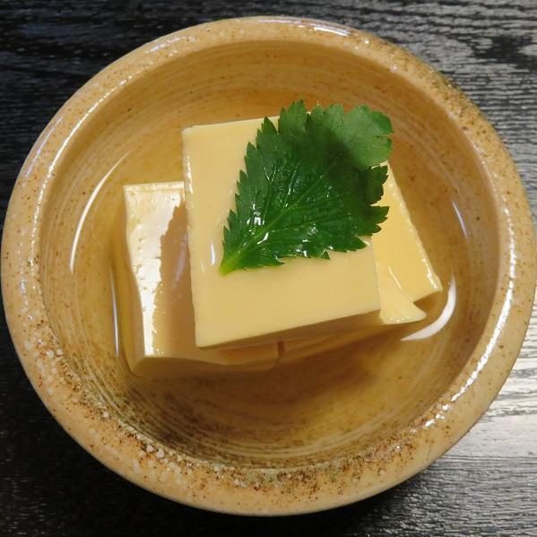 自家製玉子豆腐540円