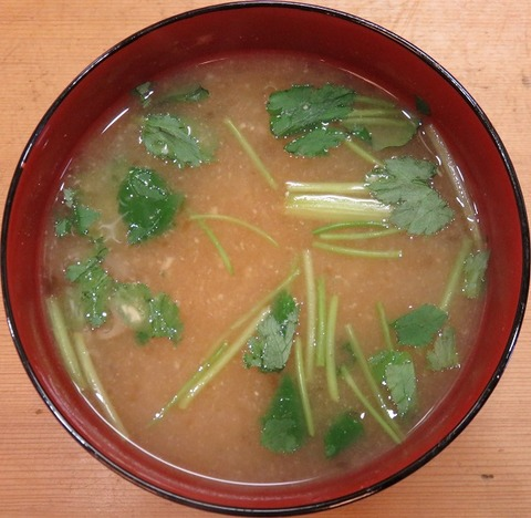 味噌汁(天藤)