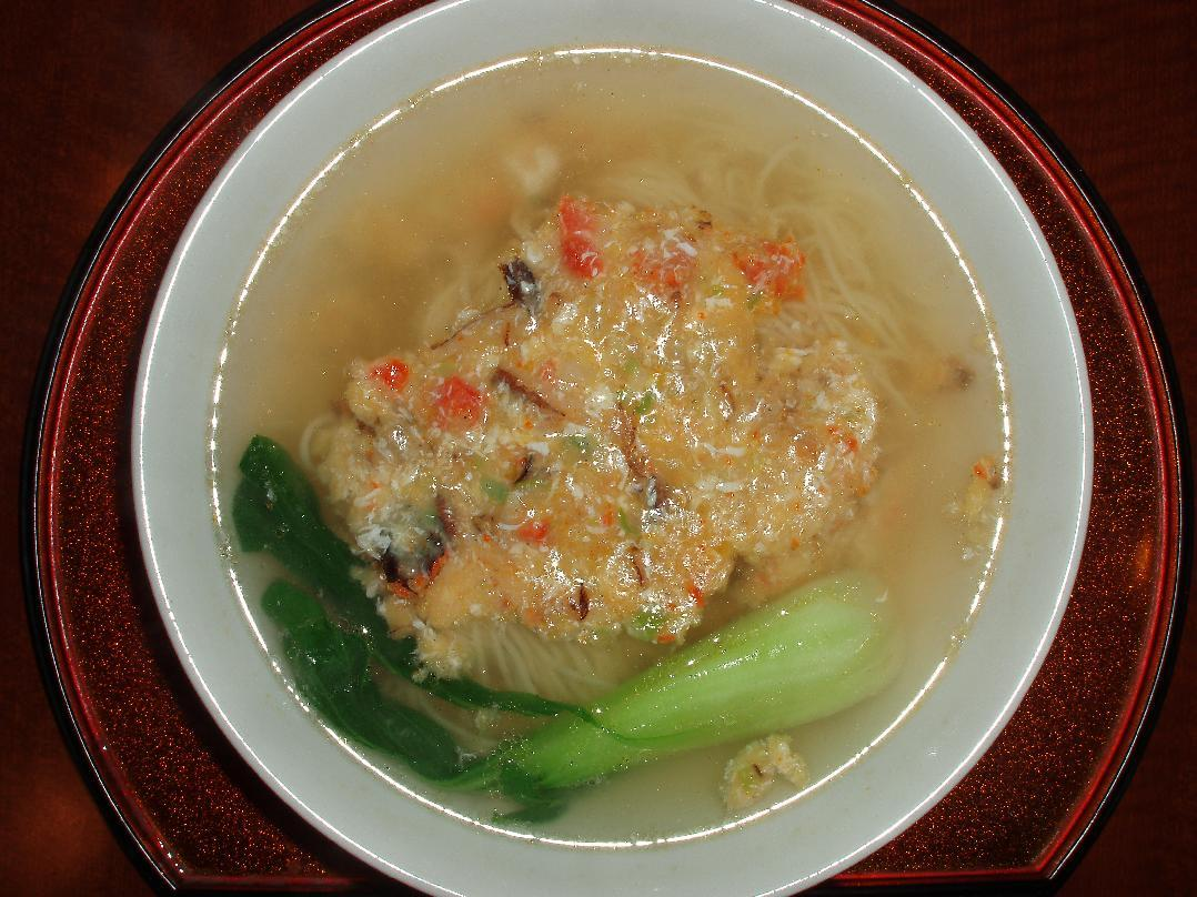 上海蟹ラーメン