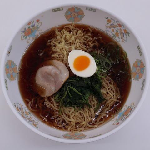 醤油ラーメン(11号館食堂)356