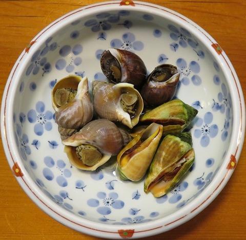 貝の盛合せ(うな泰)980