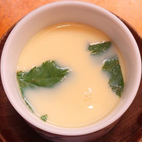 茶碗蒸し(大木屋鮨)