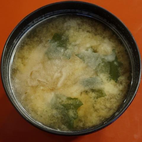 味噌汁(そば新)