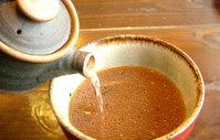 らーめん たけや つけ麺 スープもガラで割ってお飲み下さい