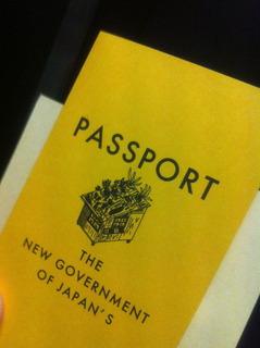 新政府パスポート