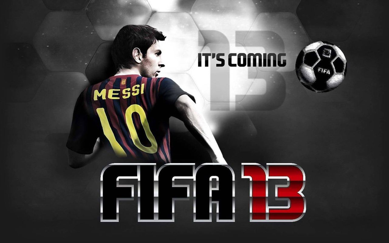 FIFA13が安かったので買ってみて...