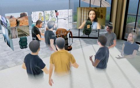 『ホログラフィックミーティング』