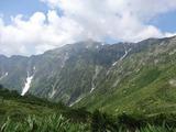 杓子平から笠ヶ岳
