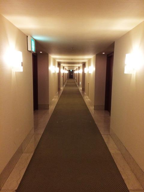 門司港ホテル廊下