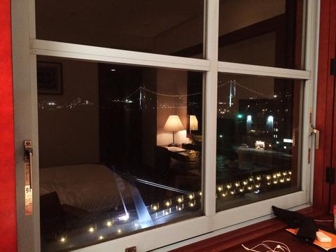 門司港ホテル窓