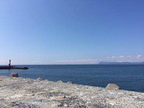 4:1 虻田漁港 2