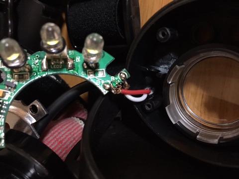 8:12 ヘッドライト修理1