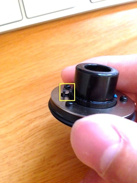 DC基盤 光センサー