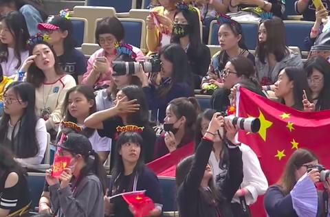 アジア選手権2017観客