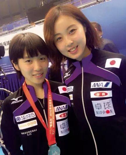 平野美宇と美人コーチ