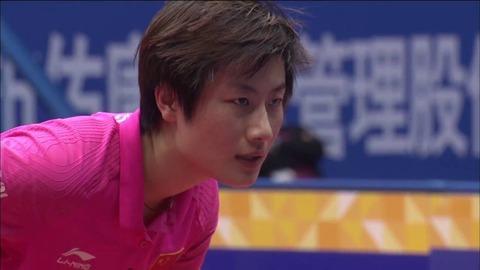 丁寧アジア選手権vs平野