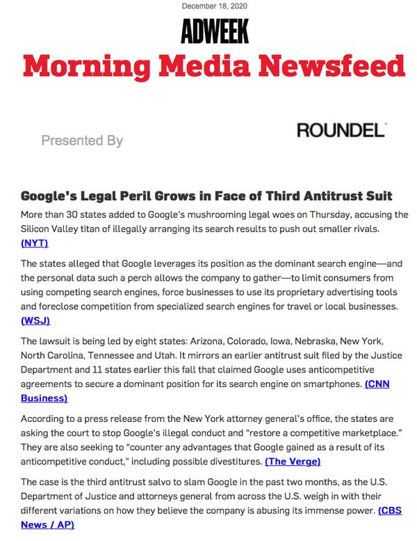 グーグル3つめ訴訟
