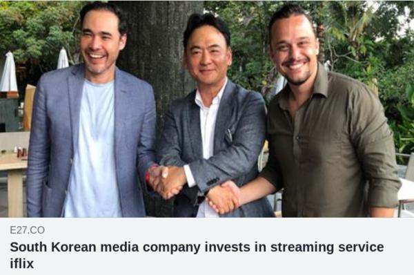 韓国メディア企業投資