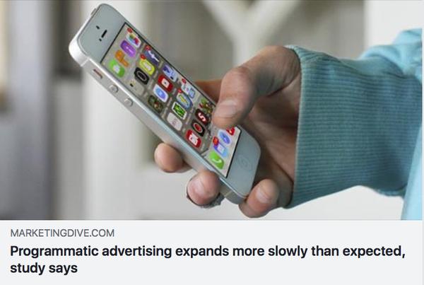 プログラマティック広告の成長率