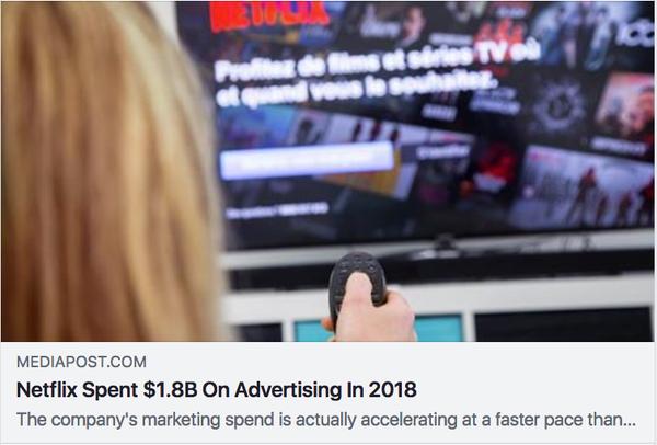 ネットフリックス広告凄い