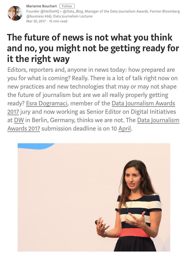 報道業界の将来