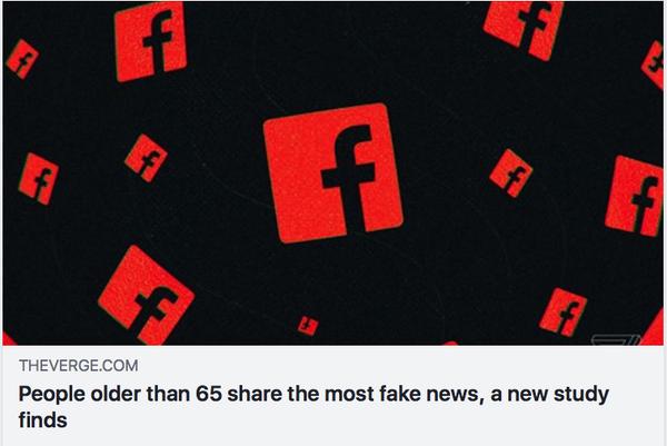 高齢者ほどフェイクニュースを鵜呑みに