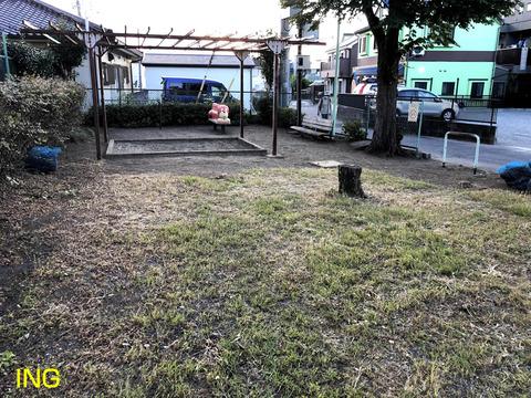 児童公園の剪定