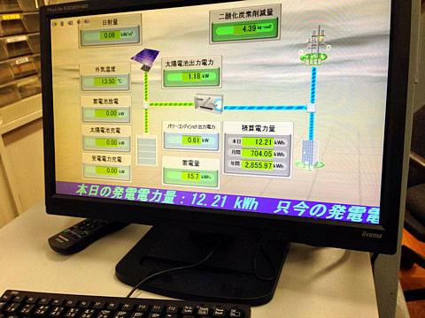 5中太陽光発電視察
