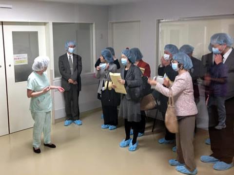 昭和病院視察