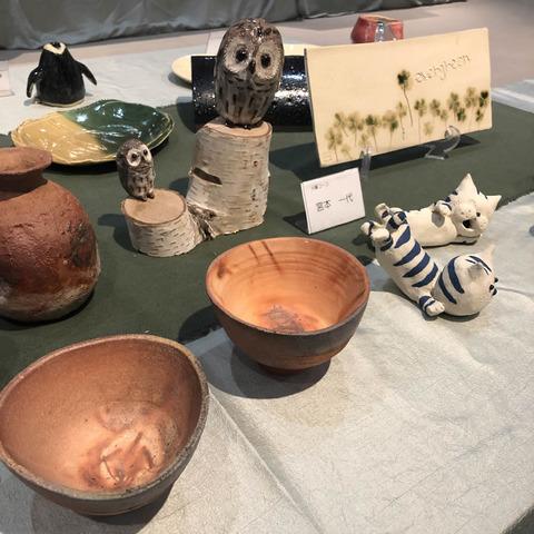 清瀬焼陶芸会作品展