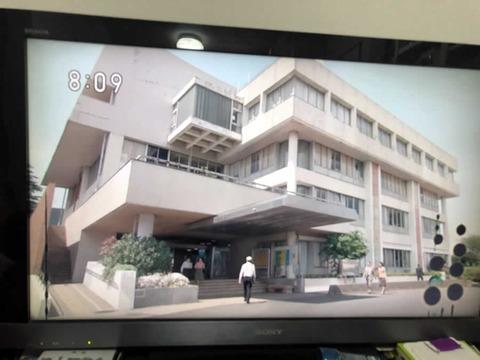 「なつぞら」で放映された清瀬市役所